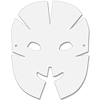 Creativity Street Die Cut Dimensional Masks, 10 5-in  x 8 25-in , 40 Pack  (AC4652)