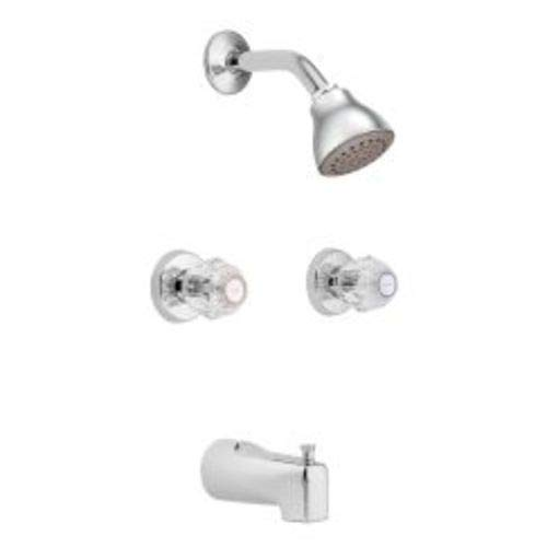 Chateau Tub and Shower Faucet with Knob Handle