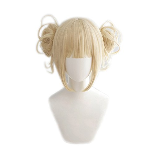 magic acgn My Hero Academia Short Blonde Game Hair Cosplay Wig Halloween Wig   -