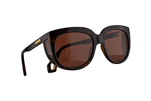 Gucci GG0468S Sunglasses Havana w/Brown Lens 57mm 002 GG0468/S 0468/S GG 0468S ()