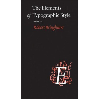 The Elements Of Typographic Style Version 3.1: Toys & Games