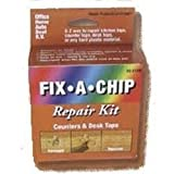 how to paint paneling Fix a Chip Counter and Desktop Repair Kit