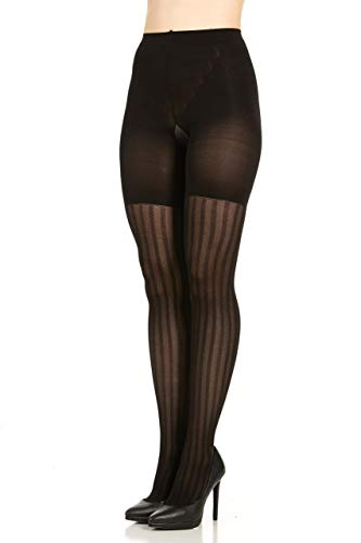 SPANX Assets Red Hot Label Textured 3-Stripe Mesh Shaping Tights - 2056 (4)