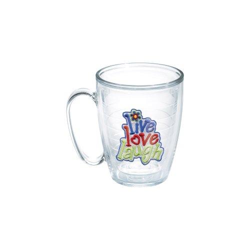 Tervis Live Love Laugh 15-Ounce Mug, Boxed