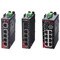 Sixnet 8 ports; unmanaged; 8 FE RJ45 Standard Industrial Ethernet Unmanaged DIN-Rail Switches. Model: SLX-8ES-1