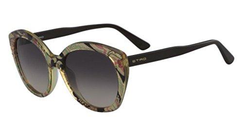 Sunglasses Etro ET 658 S 701 YELLOW/BROWN - Etro Sunglasses