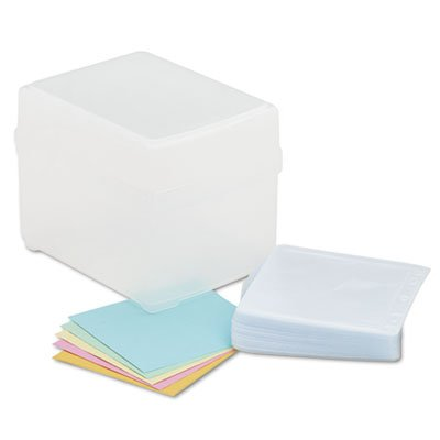 CD/DVD Storage Box, Holds 100 Discs, Sold as 2 Each by Innovera (Image #3)