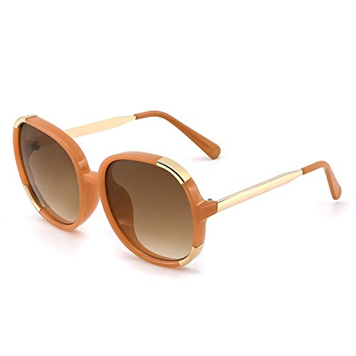 de cuadradas la mujer NIFG la de de Gafas de de la moda graduadas Gafas protección sol de personalidad UV Gafas sol 45FxZFt