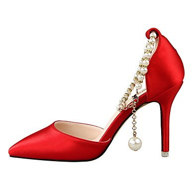 LvYuan sandalias de primavera caída comodidad correa de tobillo fiesta de boda de seda del verano&vestido de noche de tacón de aguja de Red