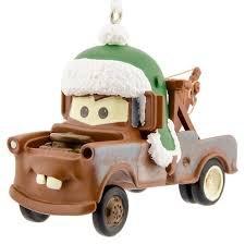 Hallmark Disney/Pixar Cars Tow Mater Christmas Ornament