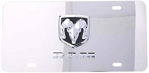 Pilot LP-031B Dodge Chrome 3D Plate
