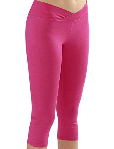 Yoga Capris Pants Power Flex