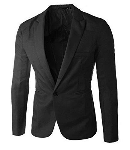 Business Court Slim Confortables Banquet Schwarz Fête Costume Homme Loisirs Fit Vêtements Blazer Tailles Veste 8ZqnwH0ZB