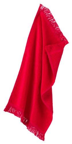Towels Plus By Anvil Fringed Spirit Towel (Spirit Red) (ONE)