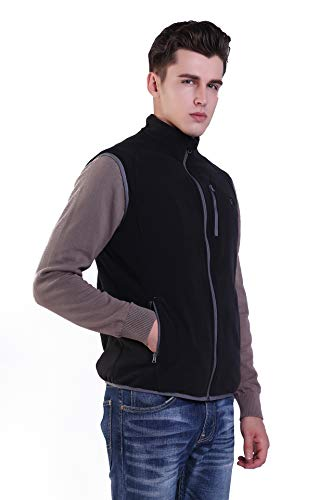 Prosmart Heated Vest Polar Fleece Lightweight Waistcoat with USB Battery Pack (XS) by Prosmart (Image #5)