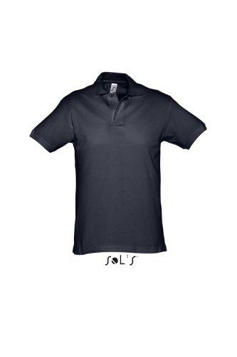 Sols - Spirit - Herren Poloshirt Kurzarm aus schwerem Piqué , Navy , XL
