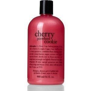Philosophy Cherry Pinwheel Cookie Shampoo Shower Gel Bubble Bath 16 Fl Oz