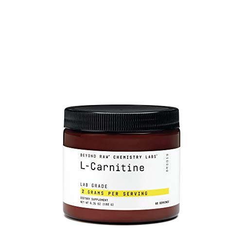 Beyond Raw Chemistry Labs L-Carnitine, 60 Servings, Fuels Exercise and Supports Recovery