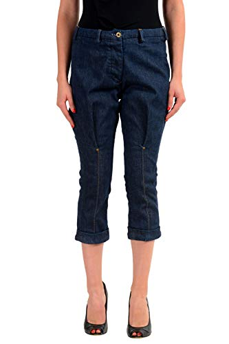 Gianfranco Ferre Blue Women's Cropped Jeans US 4 IT 40