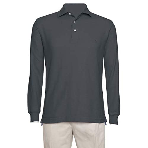 Long Sleeve Short Sleeve  Polo Shirt  Men/'s Classic Fit Pique By AKA
