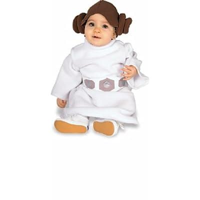 Star Wars Princess Leia Costume, White, Toddler: Clothing