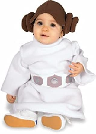 Amazon Com Star Wars Princess Leia Costume White Toddler Clothing