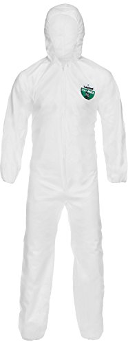 Asbestos Hazard - Lakeland Industries CTL428V-2X MicroMax NS Coverall, 2X-Large, White