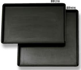 Allied Metal BB1212 Sicilian Non-Stick Tapered Pizza Pan, 12 by 1-Inch