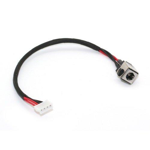 Livraison Gratuite / Connecteur de charge & alimentation compatible pour PC Portable ASUS X55A X55, avec câ ble de 13 cm, 4 broches, DC IN Jack Power, NOTE-X / DNX avec câble de 13 cm