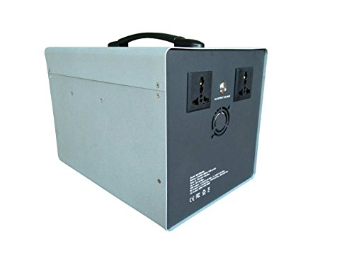 MEGASOLAR 300W Solar Generator Solar System with 288Wh LiFePO4 battery, Solar & AC Input, 300w 110v AC Inverter 4 USB 2 QC3.0 312v 15v 20v DC output, TFT Display, charged by Solar Charger Solar Panel by SZMJSOLAR (Image #1)