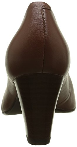 Hush Puppies Alegria - Zapatos de Talón Abierto Mujer Marrón