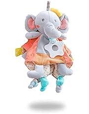 EAQ Babytäcken babyfilt mjuka babyleksaker för nyfödd bebis flicka gåva pojkar bästa gåvor