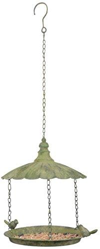 Esschert Design AM84 Aged Metal Green Hanging Bird Feeder Review