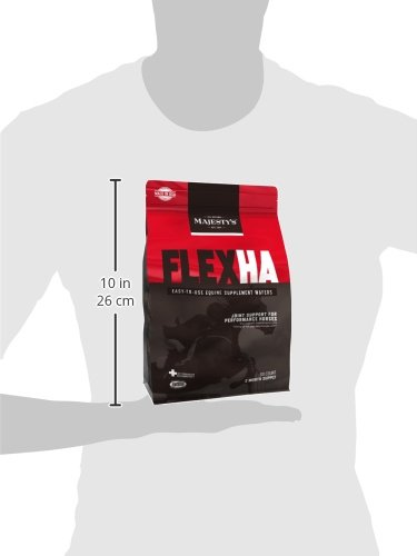 Picture of Majesty's HA Wafers - Joint therapy for high performance horses  - 60 count bag