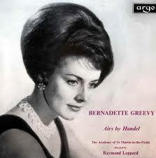 Bernadette Greevy Airs by Handel - The Academy of St. Martins-in-the-Fields, directed by Raymond Leppard
