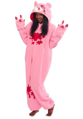 Gloomy Bear Pink Kigurumi - Adult Pajamas Fancy Dress (One Size Fits (Gloomy Bear)