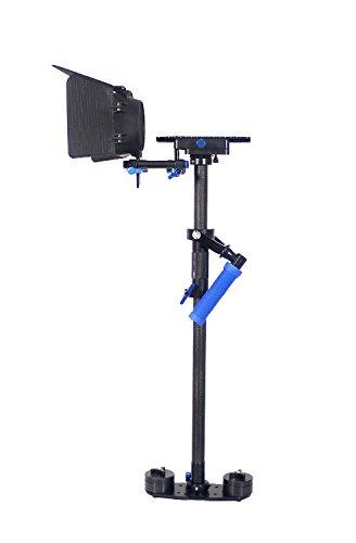 Ring Light S-120 Camera Stabilizer Set DSLR Video Camera Kit 2-5kg Magic Carbon Fiber Camera Stabilizer as stabilizator+Matte Box +Bag