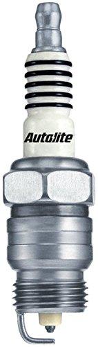 (Set (8pcs) Autolite Copper Core Spark Plugs Resistor Tapered Seat 18mm x 1.50 Thread 46)