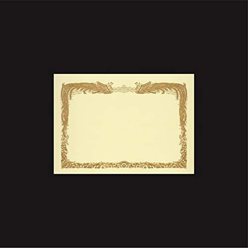 山櫻 賞状用紙 A4ワイド クリームCoC 横長(RY) 00801202 300枚【1箱100枚×3箱】 B07QCS3VQJ