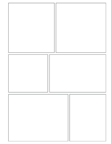 My Story: Create Your Own Comic or Graphic Novel. Blank Templates for Your Own Story, Characters and Drawings. Great for Aspiring Writers of All Ages. … Design One) (My Story Blank Comic Templates)