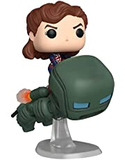 Funko Pop! Deluxe Marvel: What If? - Captain Carter Riding Hydrostomper, Year of The Shield Amazon Exclusive
