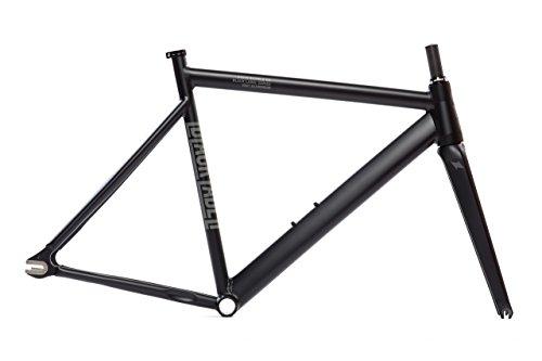 State Bicycle Black Label 6061 v2 Aluminum Frame and Fork Set, Matte Black, 49cm