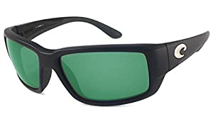Costa Del Mar Fantail 400G Fantail, Black Green Mirror, Green Mirror