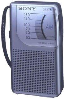 ICR-P15 portable radio handy dedicated Sony AM