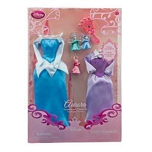 Disney Princess Aurora Doll Wardrobe and Friends