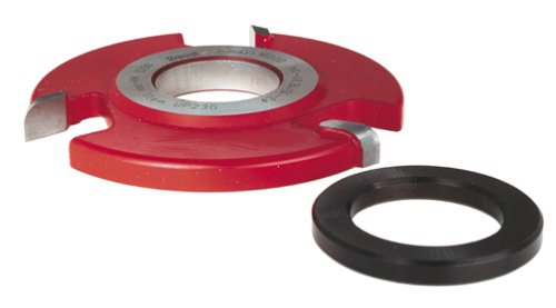 Freud UP230 Radius Back Cutter For 5/8-Inch Stock 1-1/4 Bore Freud Raised Panel Cutters