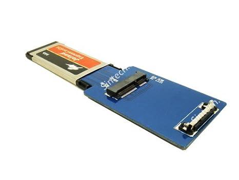 Sintech - Tarjeta Expresscard para portátil (tamaño 34 a ...