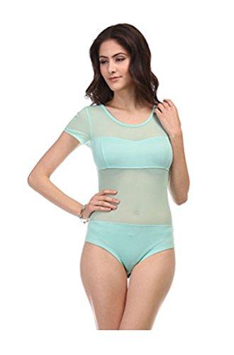 2LUV Womens Sheer Sleeve Bodysuit product image