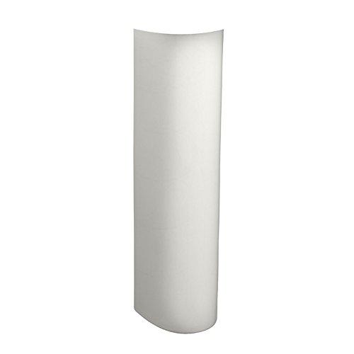 American Standard 731150-400.020 Pedestal Leg, 34-1/2 In H X 22 In W X 18 In D, 6.25 x 7.00 x 30.00