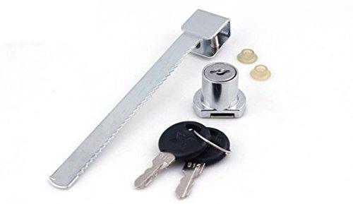 Cerradura de puerta + 2 llaves para escaparate de terrario reptil: Amazon.es: Hogar
